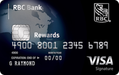 Visa Signature Black credit card image