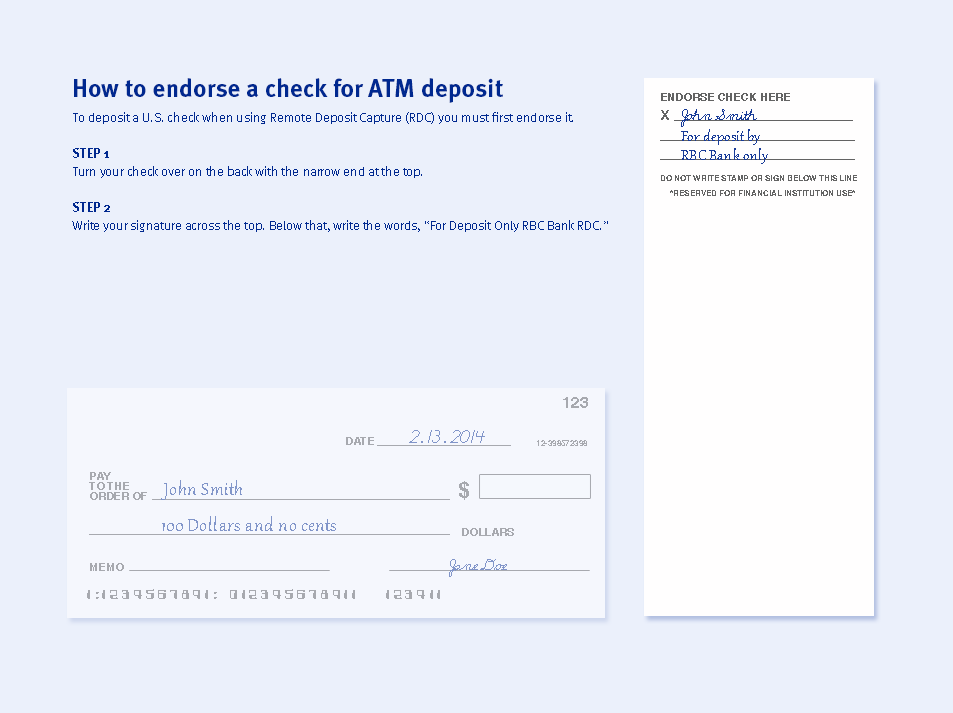 Atm deposits convenient ways to put money in your u s account